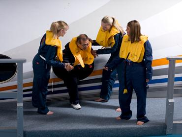 HRD plane evacuation