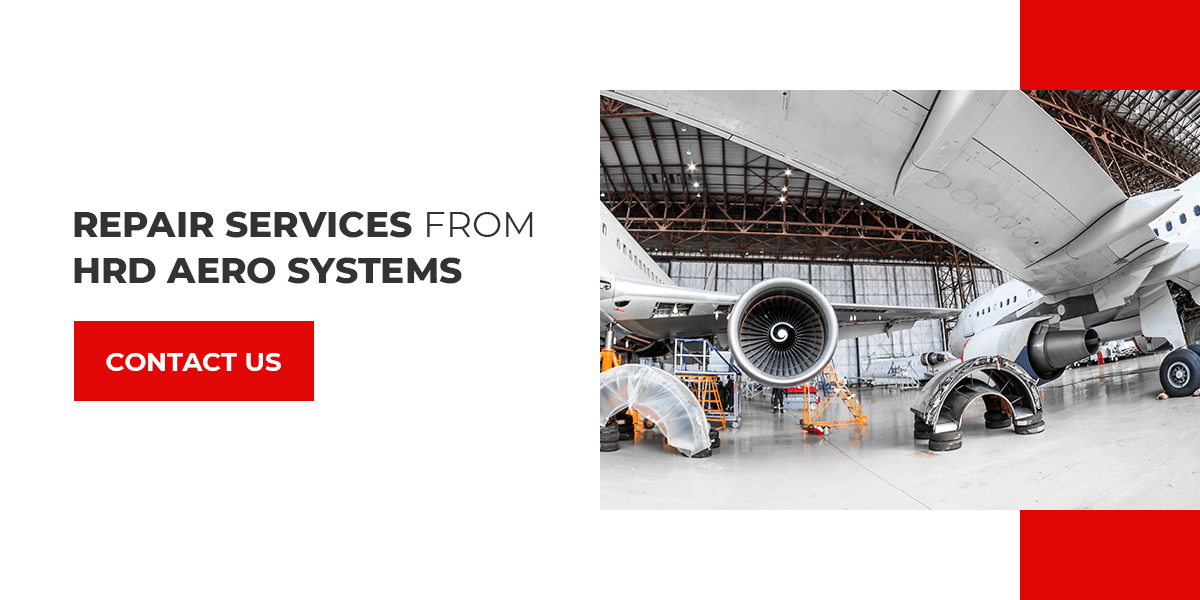 Contact HRD for Aviation Repair Services and an 8130 certificate