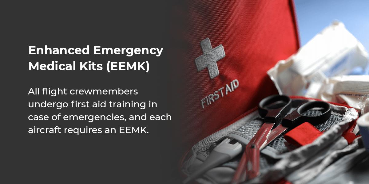Enhanced Emergency Medical Kits on Aircrafts
